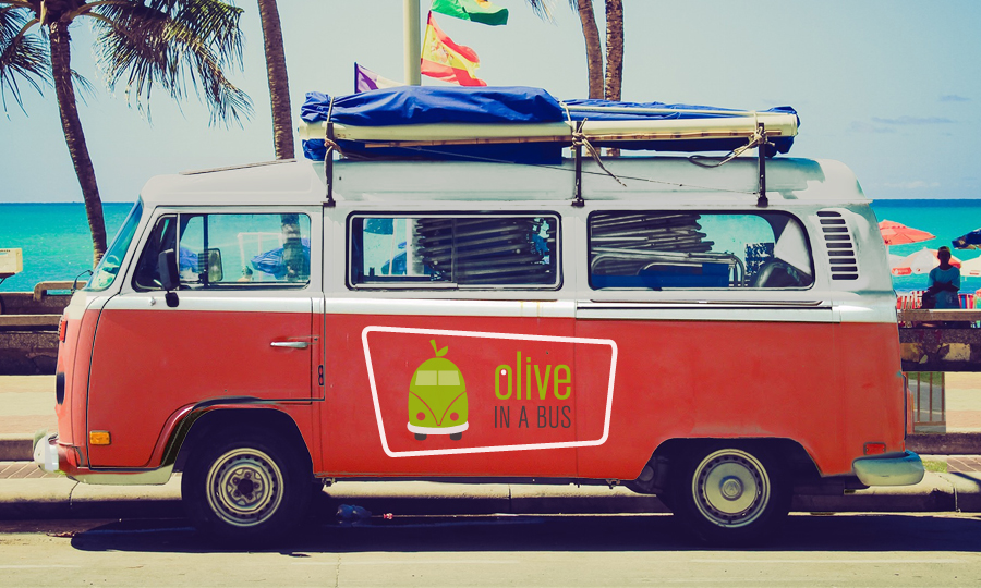 Olive in a Bus | UK
