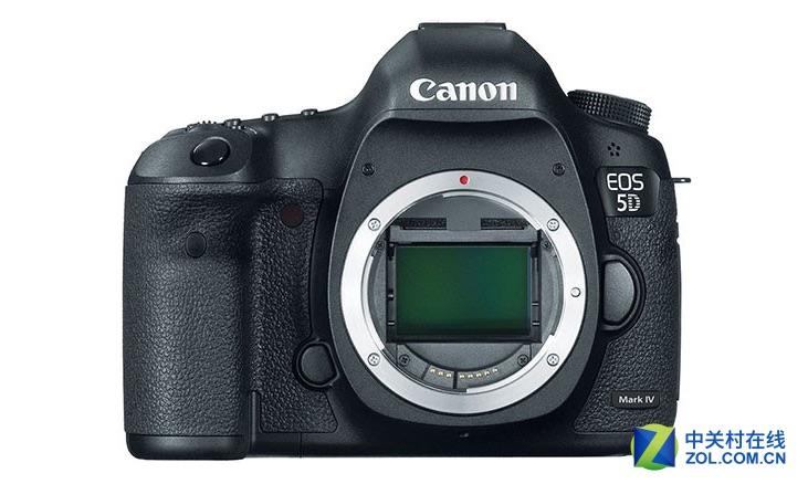 Canon EOS 5D Mark IV mockup by zol.com.cn