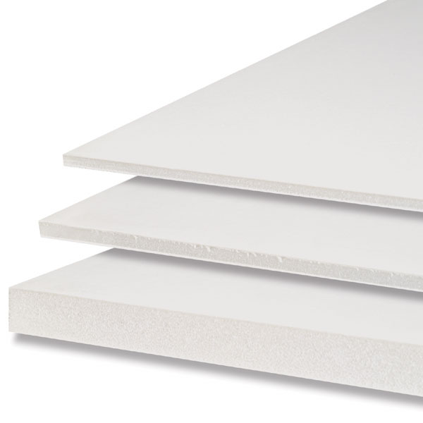 Foam Core Board found at your local drug stores or dollar marts. You can get them for a $1 each, but have their limitations.