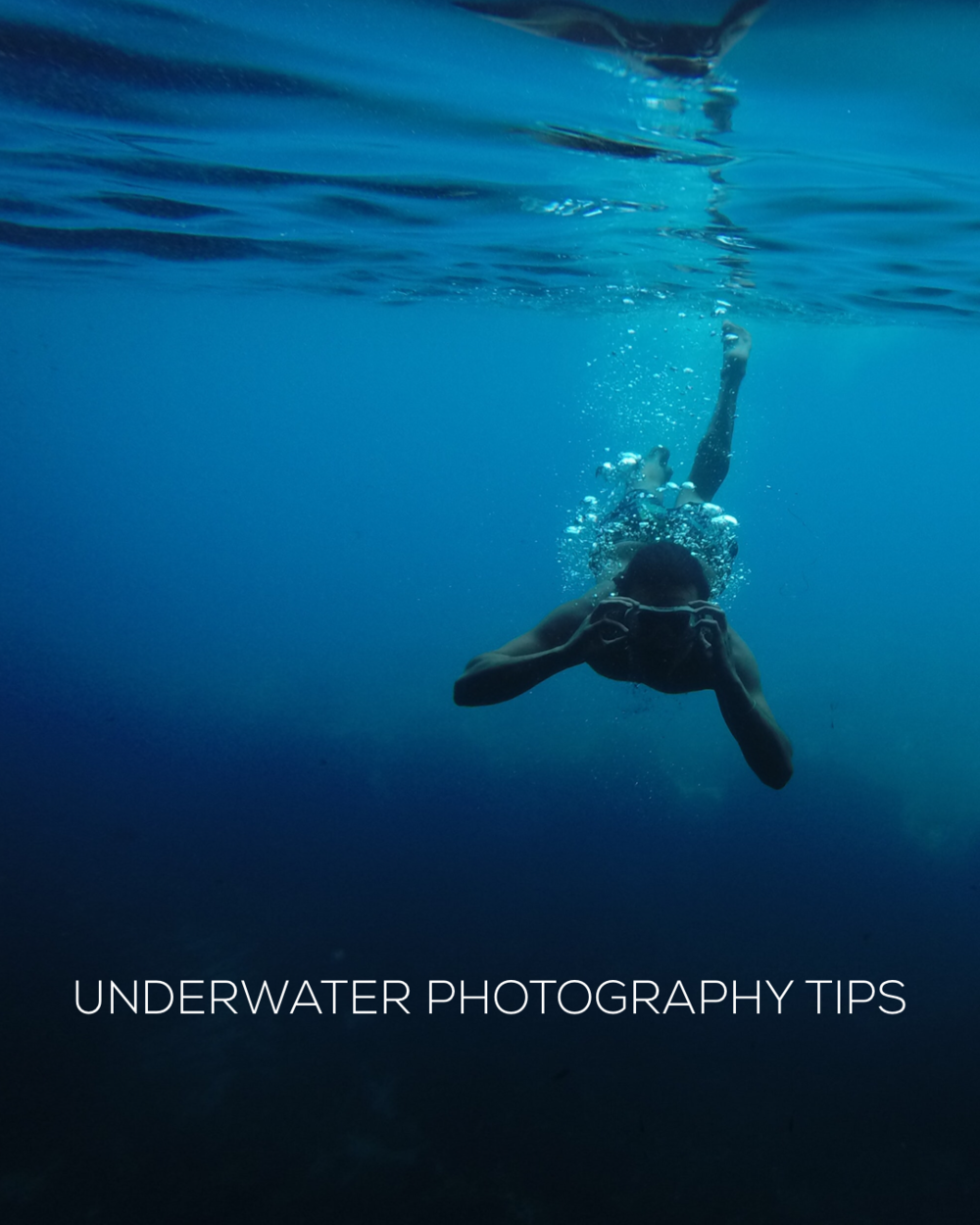 Underwater photography advice for iPhone. Image by Adrien RF
