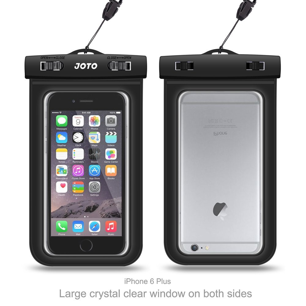 Great and afford underwater iPHONE case for photography. (JOTO)