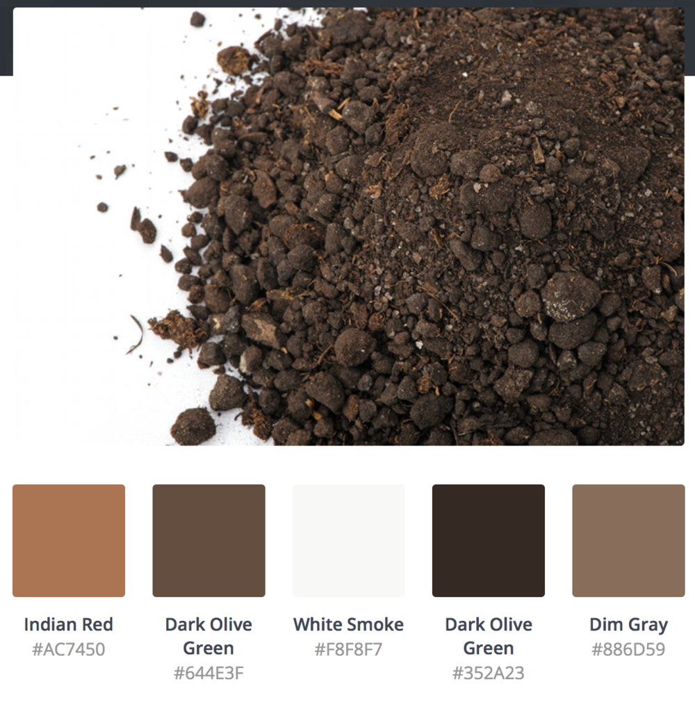 Dirt is Beautiful - Can you say any of the color shades don't match?
