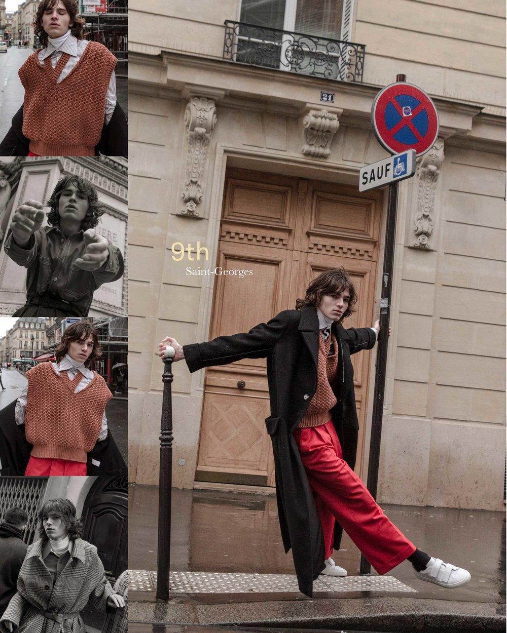 Men's Fashion Post, Photograph by Simon Schmidt