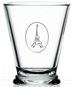 Eiffel Tower Glass Tumbler