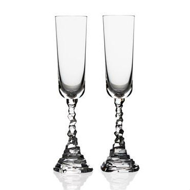 Michael Aram Rock Champagne Flutes
