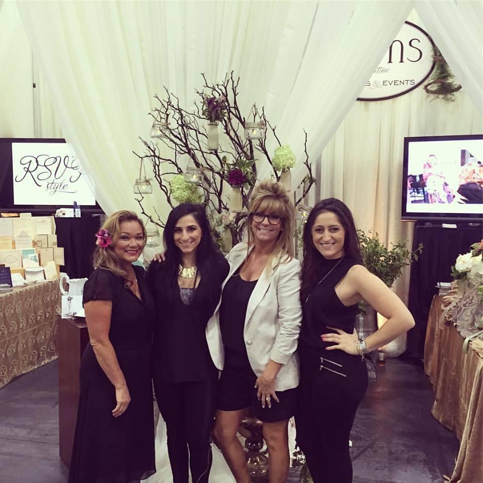 Left to right -Dana Wheat, Armine Semirdjian, Mary Papaleo, Gina Jelladian