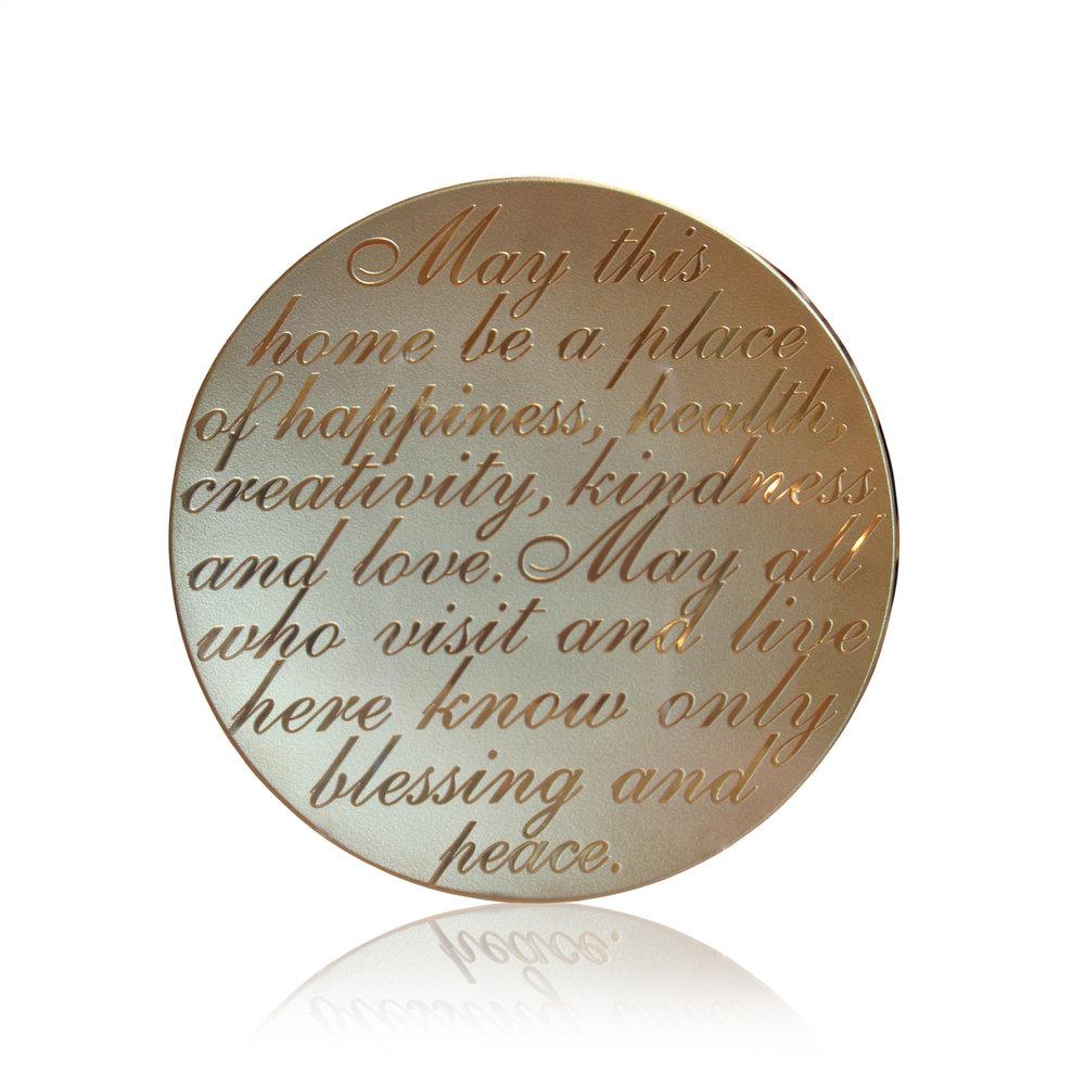 $685 Home Blessing Decor Platter