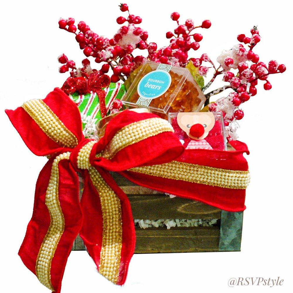 Christmas Berries Gift Basket
