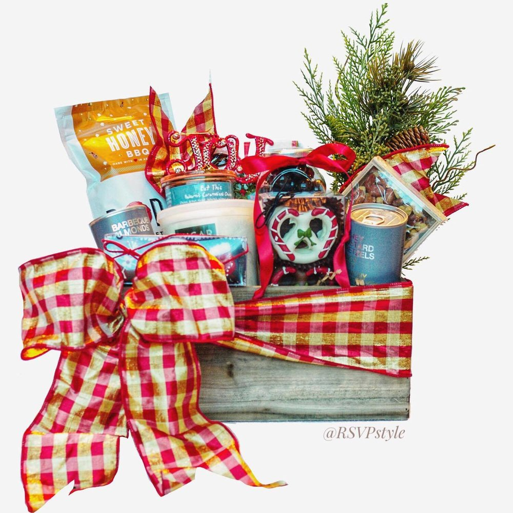 All I Want for Christmas Gift Basket