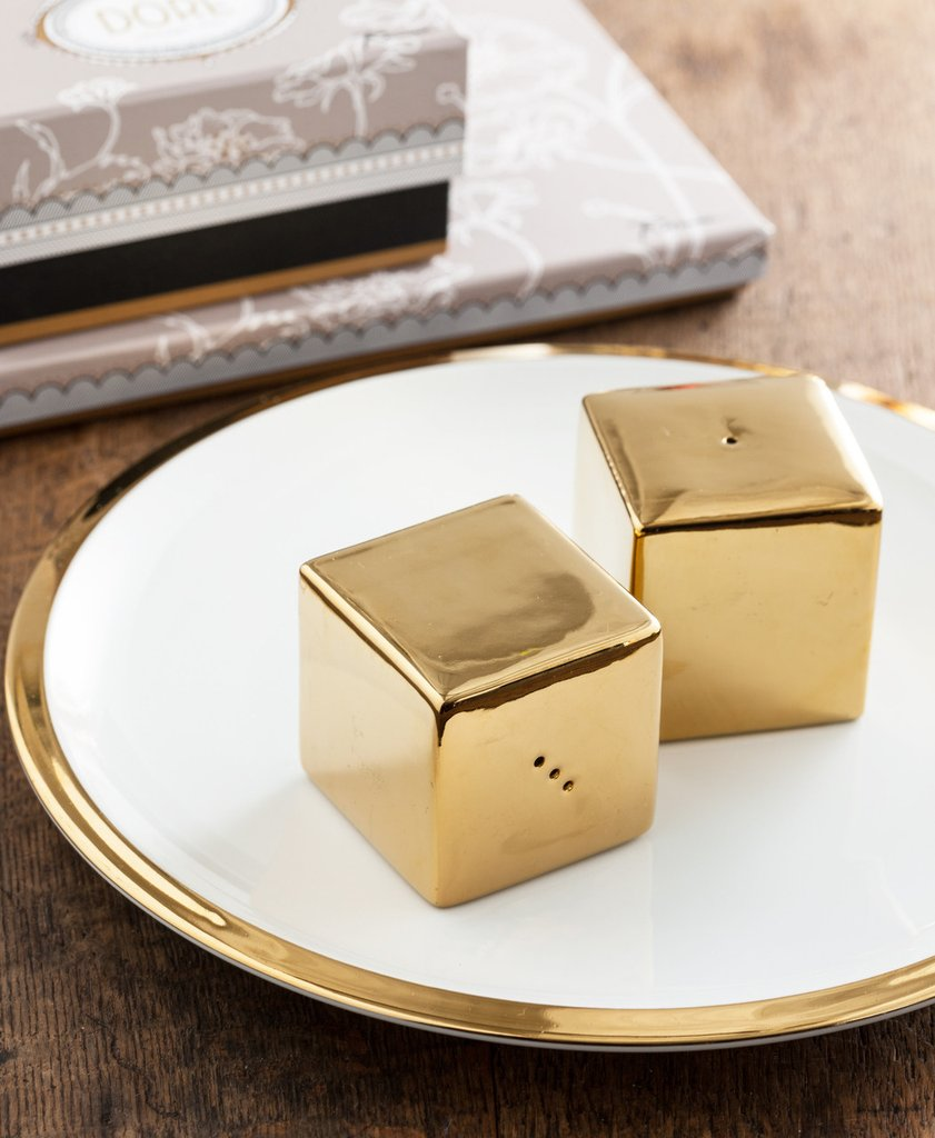More Square Salt & Pepper Shakers