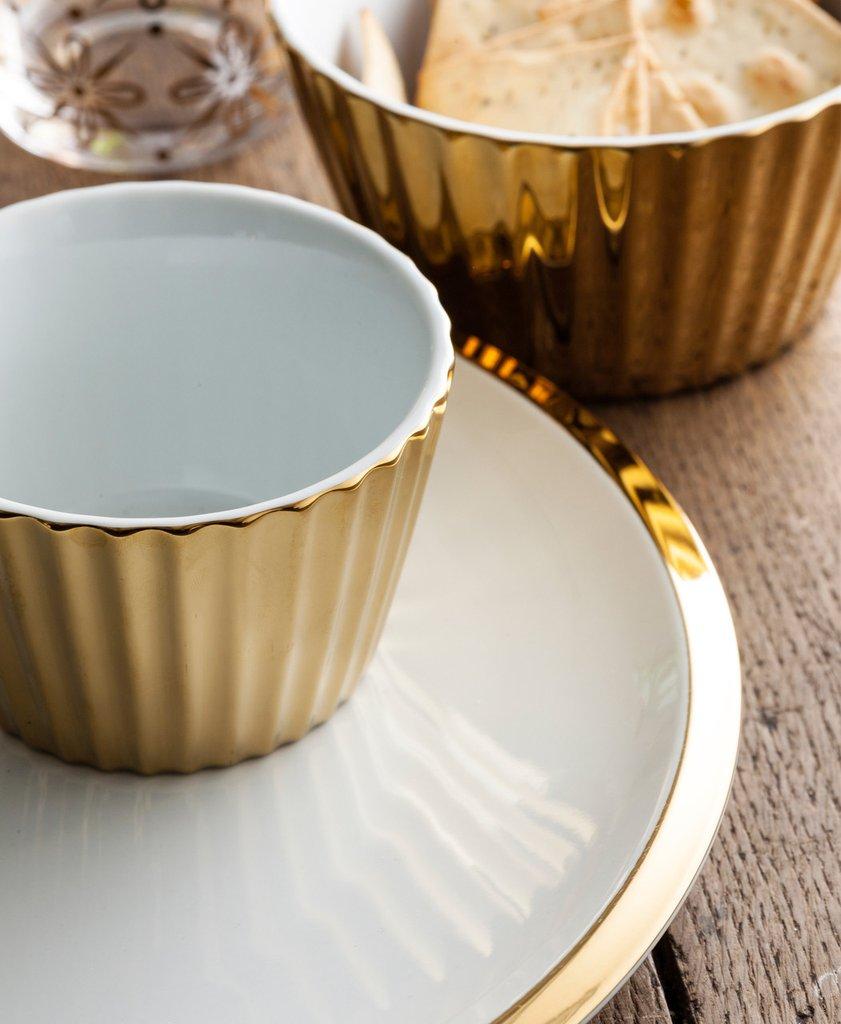 Dore Nesting Scallop Bowls