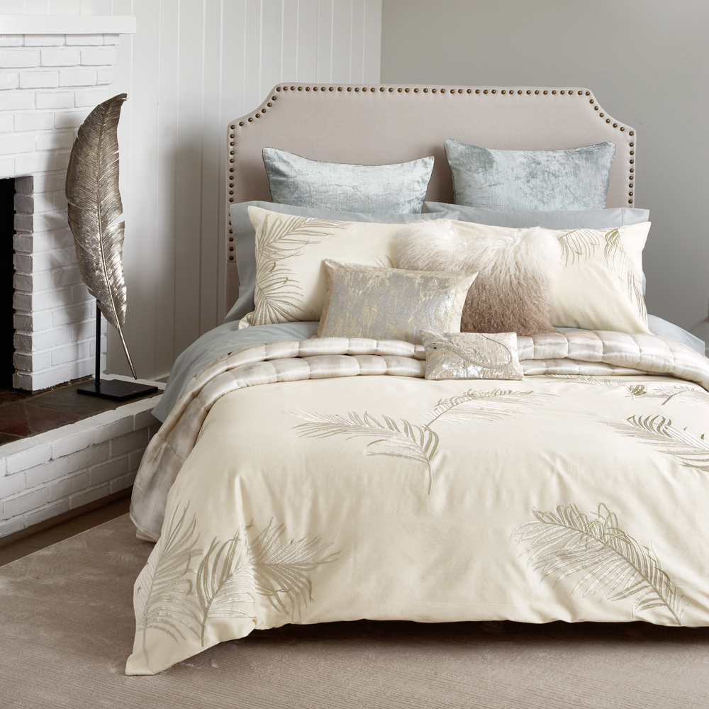 Michael aram palm bedding collection