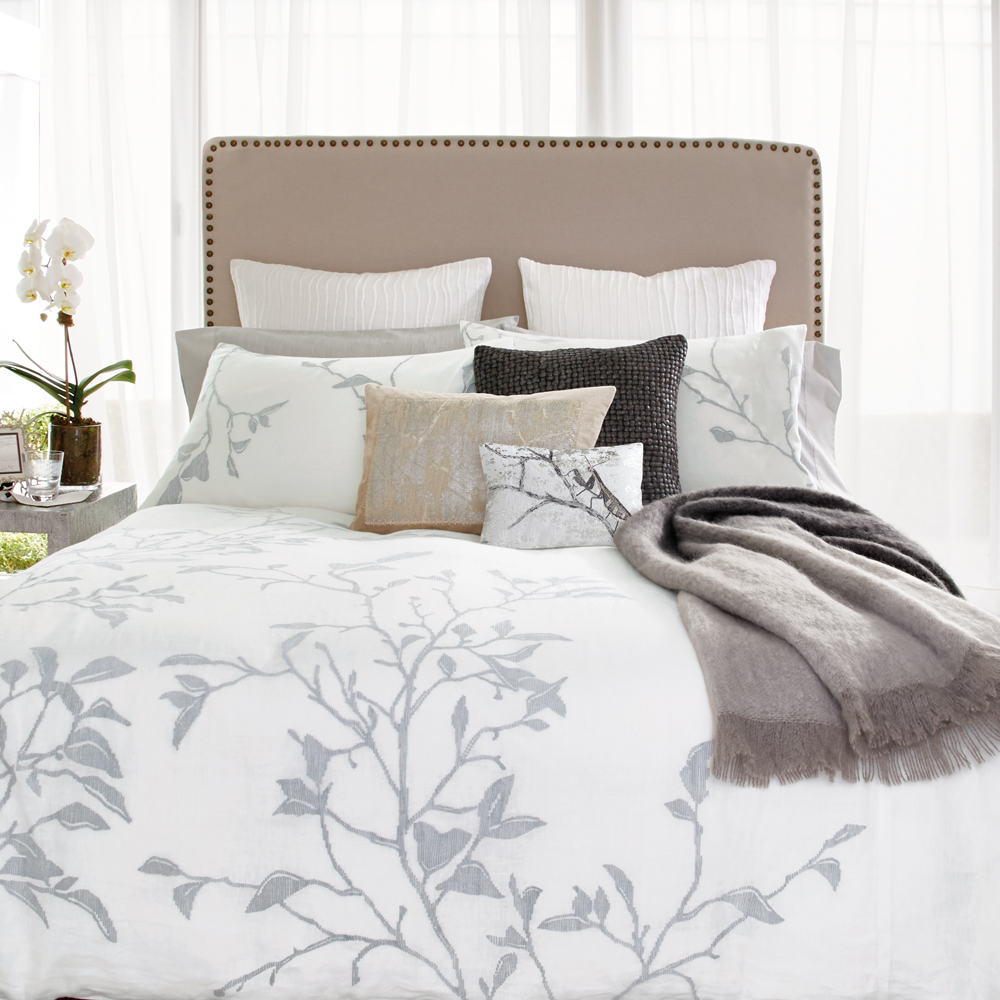 Michael Aram branch bedding