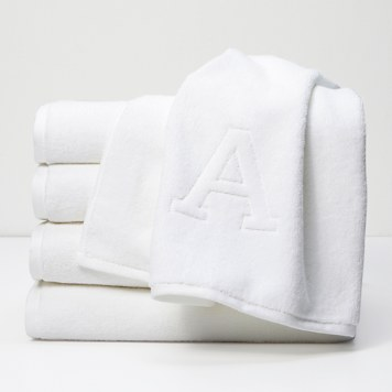 Custom Monogram Hand Towel