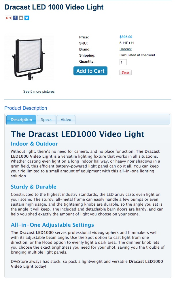 DVEstore video light.jpg