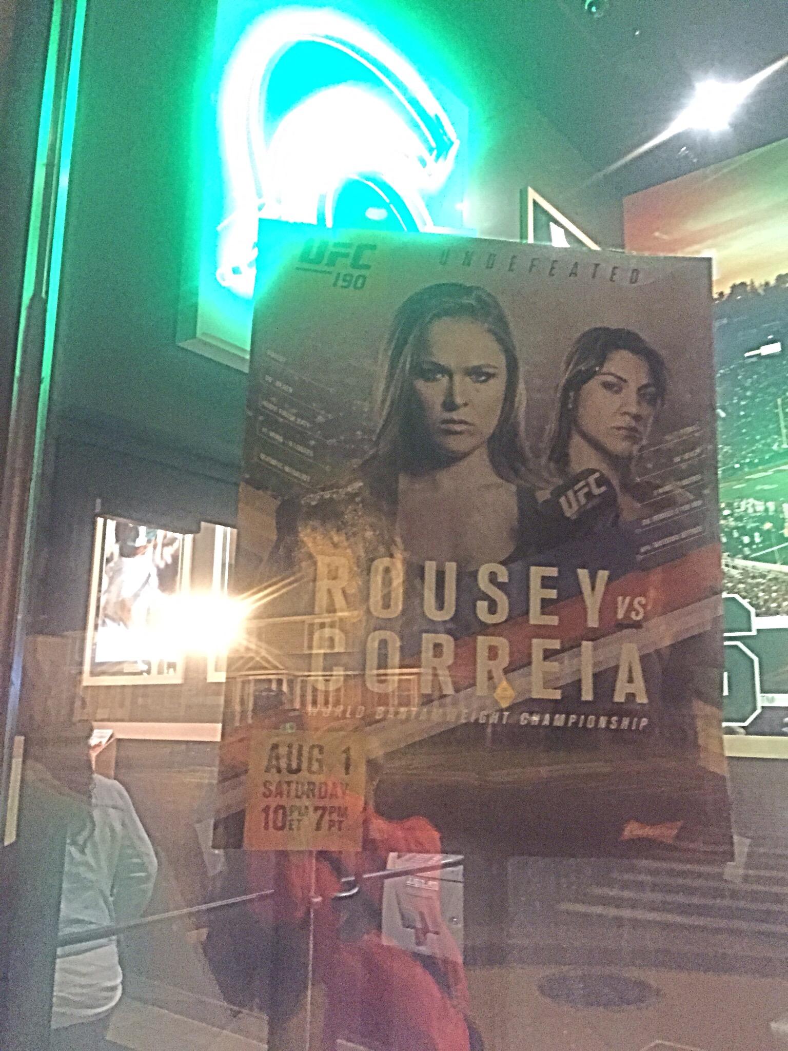 Rousey vs. correia