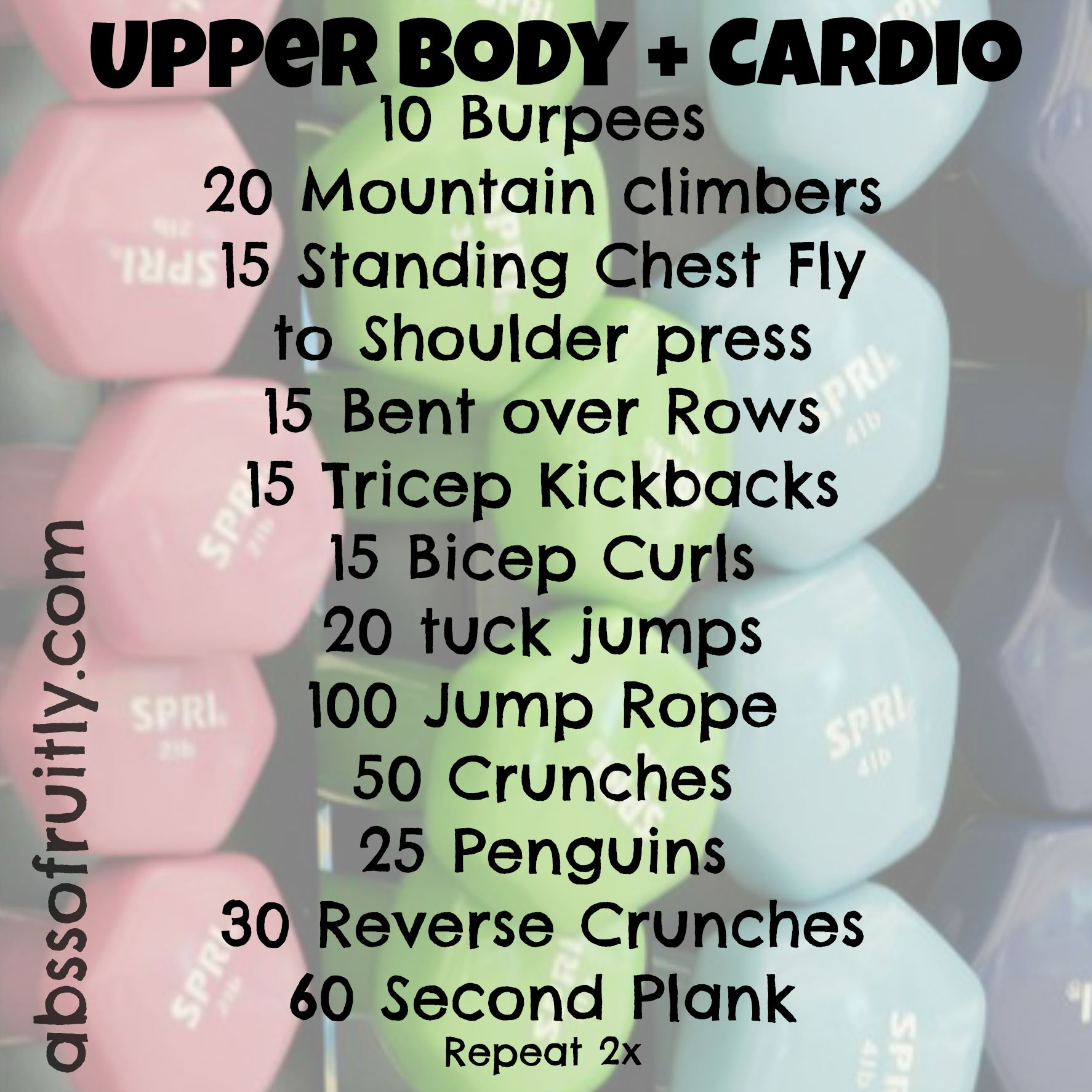 upper and cardio