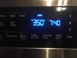 Preheat oven 350