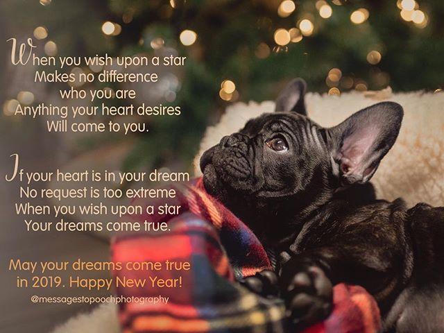 Happy New Year to all. #wishuponastar #dreamsdocometrue #heartinadream #happy2019