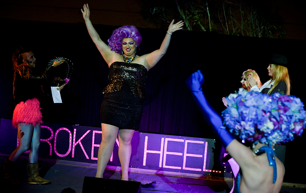 Reigning 2016 Queen of the Broken Heel Festival, Shelita Buffet