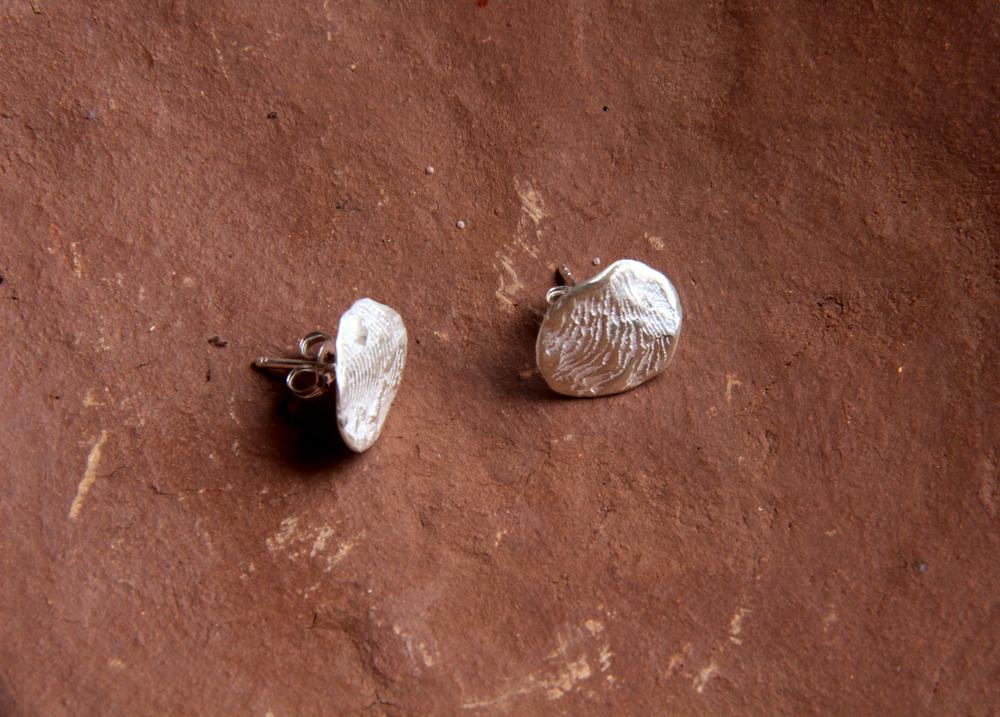 cuttlefish impression flat round studs on terrracotta.jpg