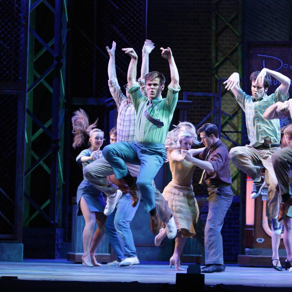 West Side Story  at Music Theatre Wichita. 2014. Christopher Clark Photography.