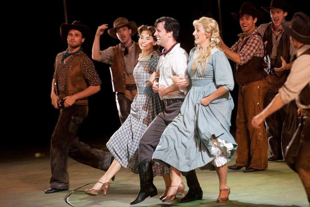 Oklahoma!  at the Muny in St. Louis. 2015.