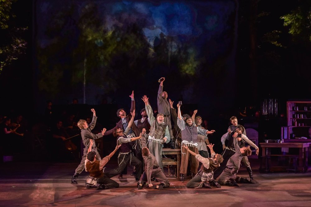 Fiddler on the Roof  at The Muny in St. Louis. 2016.