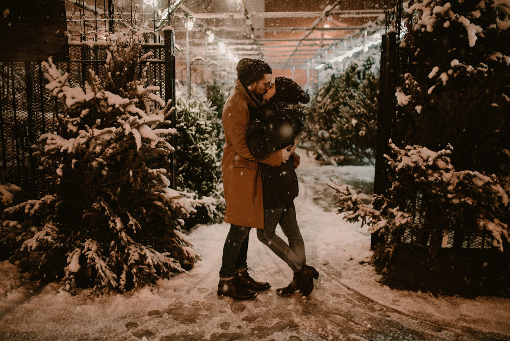 Chicago-Snow-Engagement