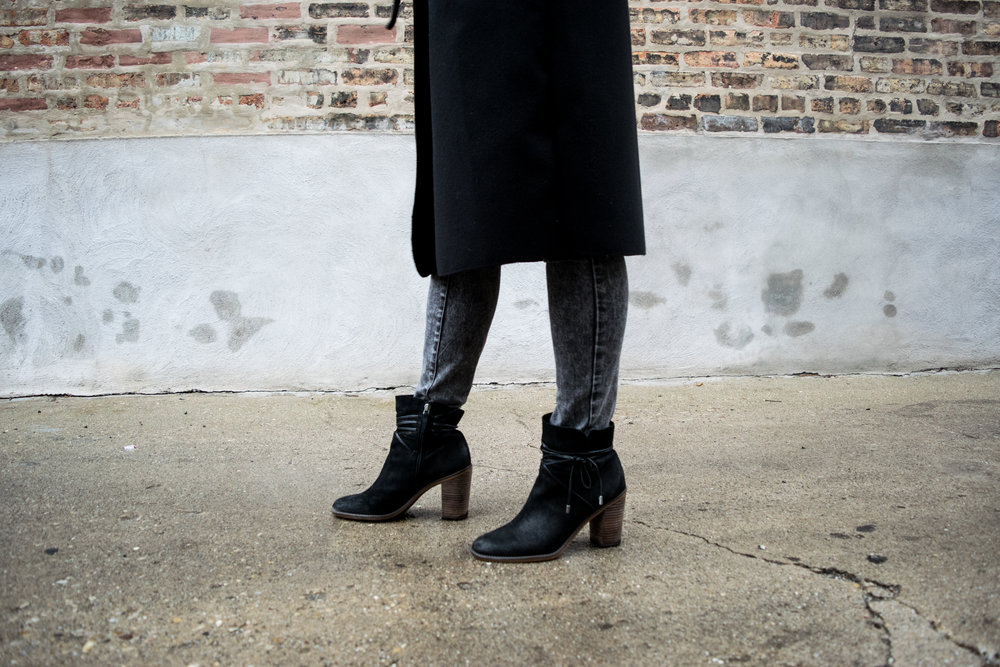 Franco Sarto (via Macy's):  Black Booties