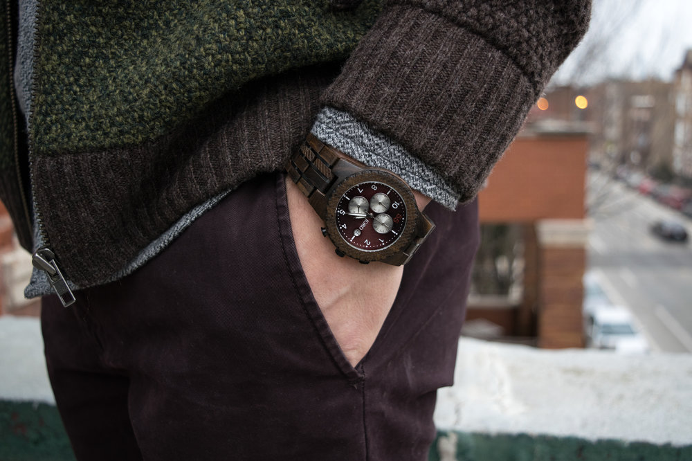 Mens-JORD-Wood-Watch