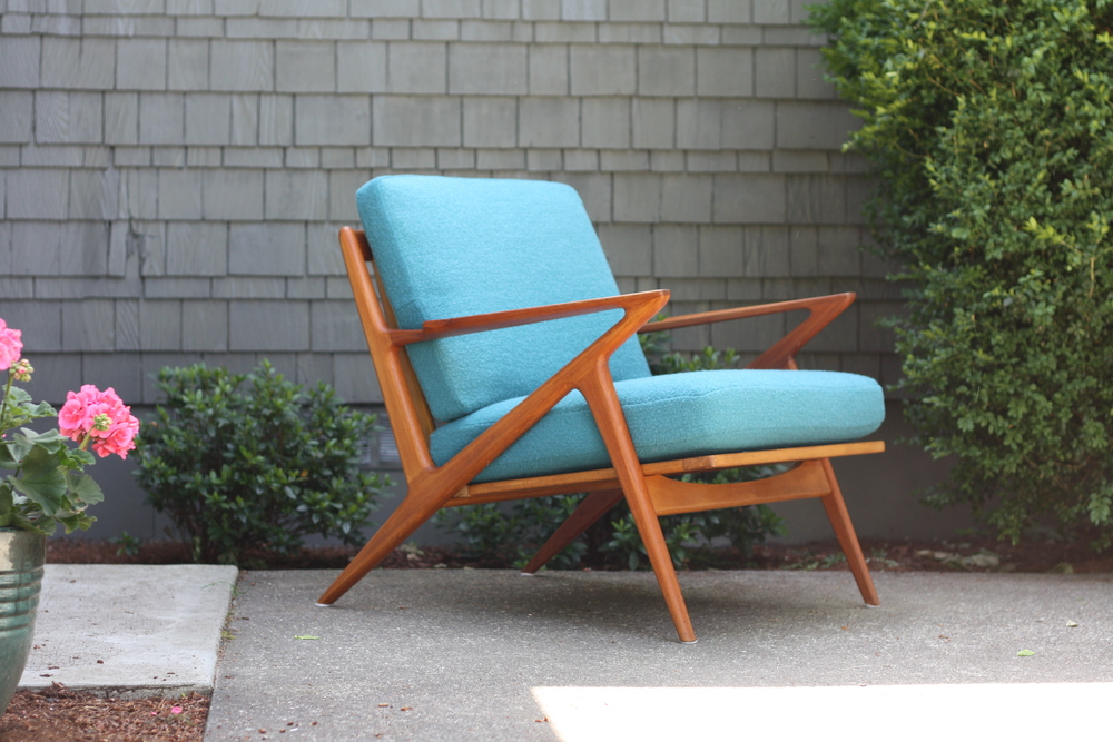 If Youu0027re Looking At This Posting, You Know Just How Rare This Chair Is.  The Z Chair Is Arguably The Most Iconic Mid Century Chair That Exists.