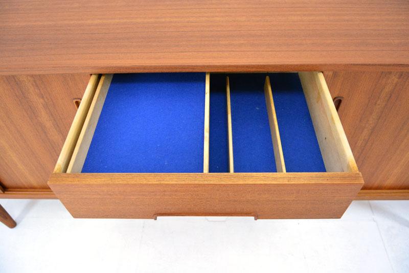 Troeds_Sweden_long_teak_sideboard_cutlery_drawer.JPG