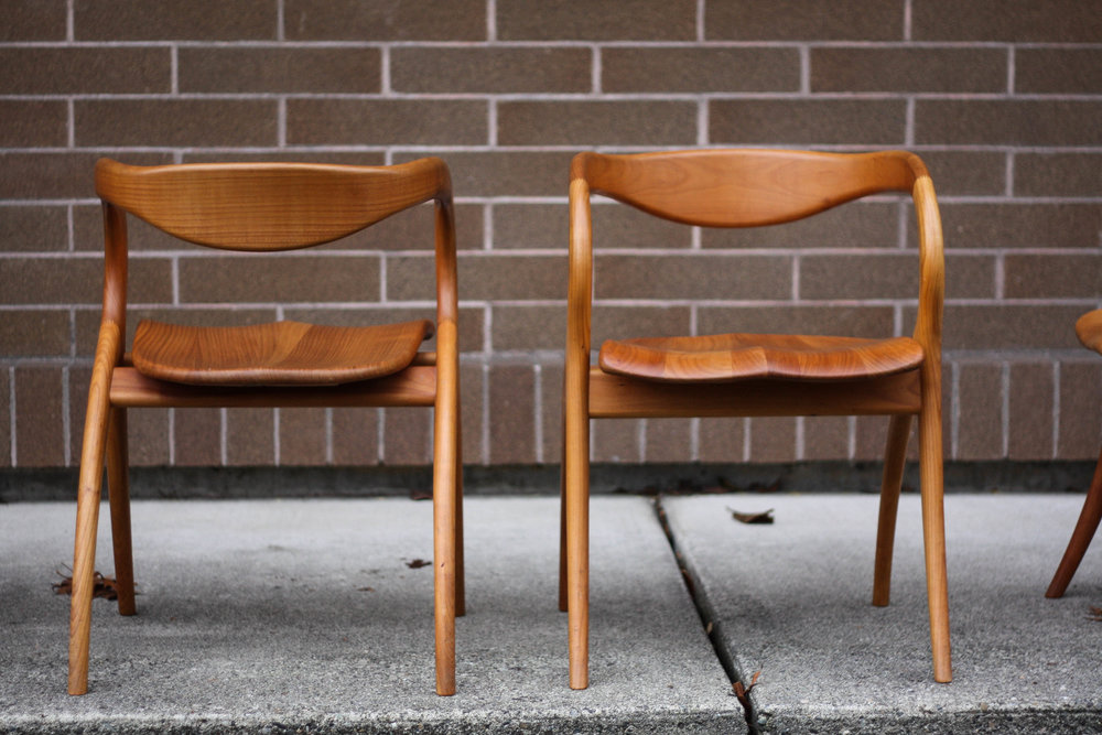 Italian Dining Chairs By A Sibau X 6 Sold Mid And Mod