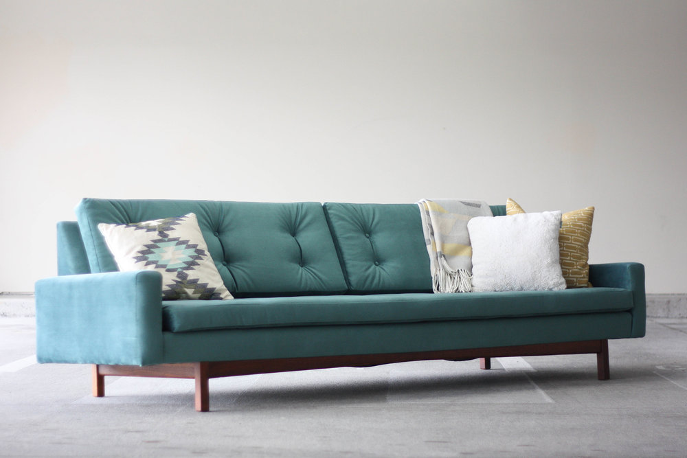 This Incredible Mid Century Modern Sofa Canu0027t Be Beat. Long And Lean.  Perfectly Proportioned And Sure To Be The Statement Piece Of Your Home.