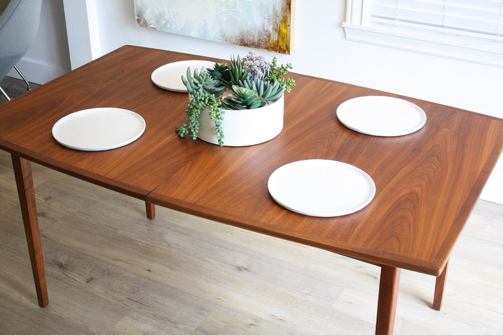 kipp stewart extension walnut dining table seats 12 sold mid rh midandmod com