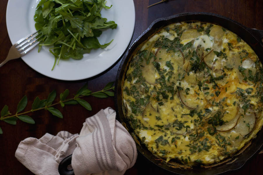 Spanish Tortilla Skillet and Arugula_Web.jpeg