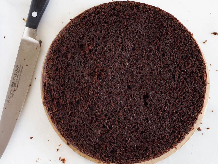 A leveled cake!