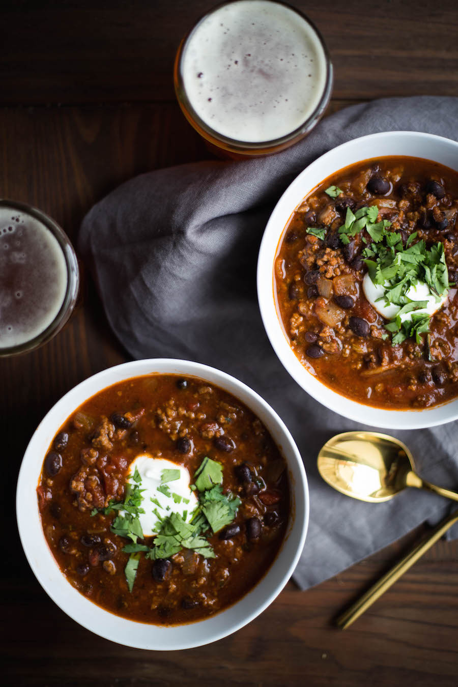 Bowl of Beer Chili