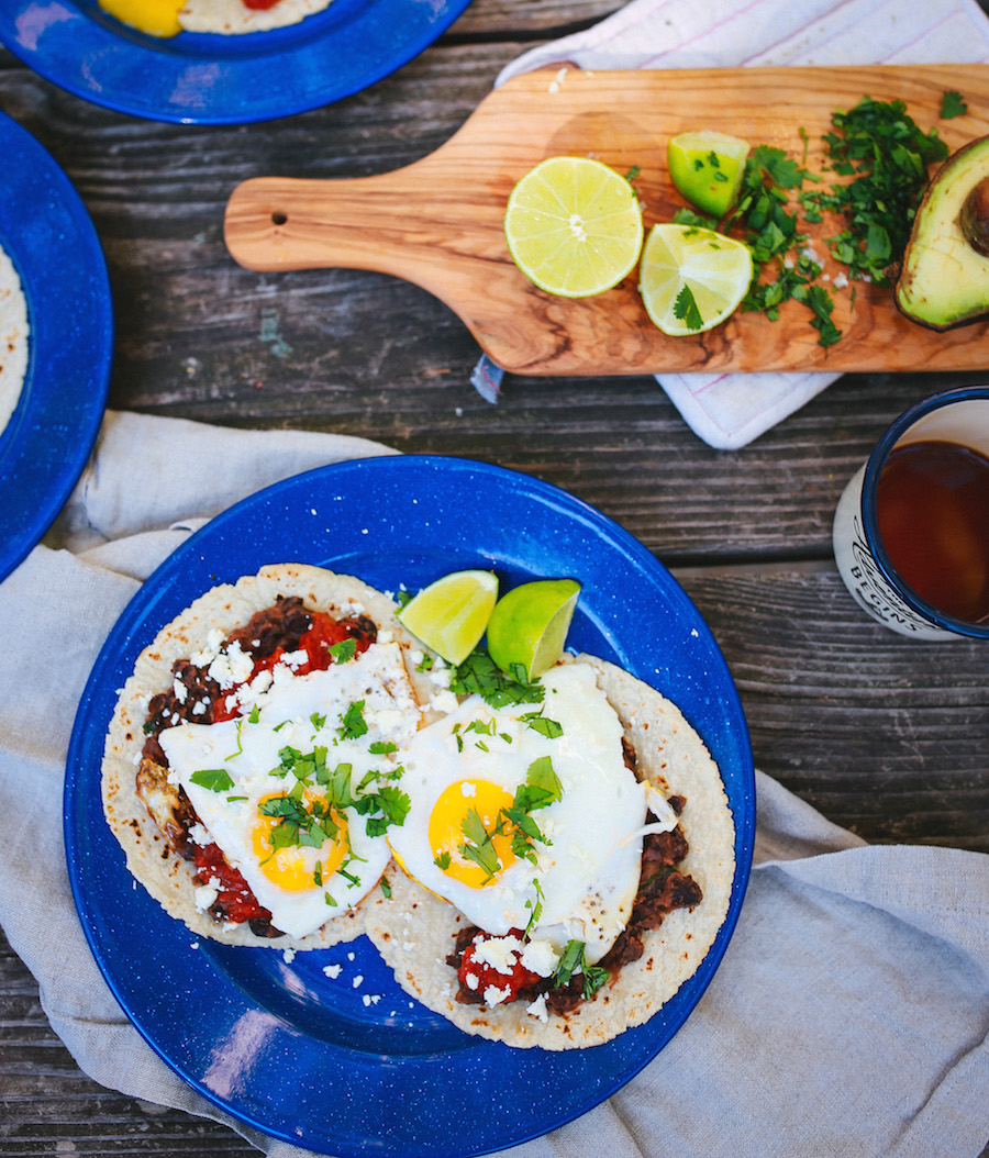 I Made This Recipe For Huevos Rancheros While Camping At The Beach A Few Weeks Ago And It Was So Incredibly Easy Delicious Comes Together Quickly