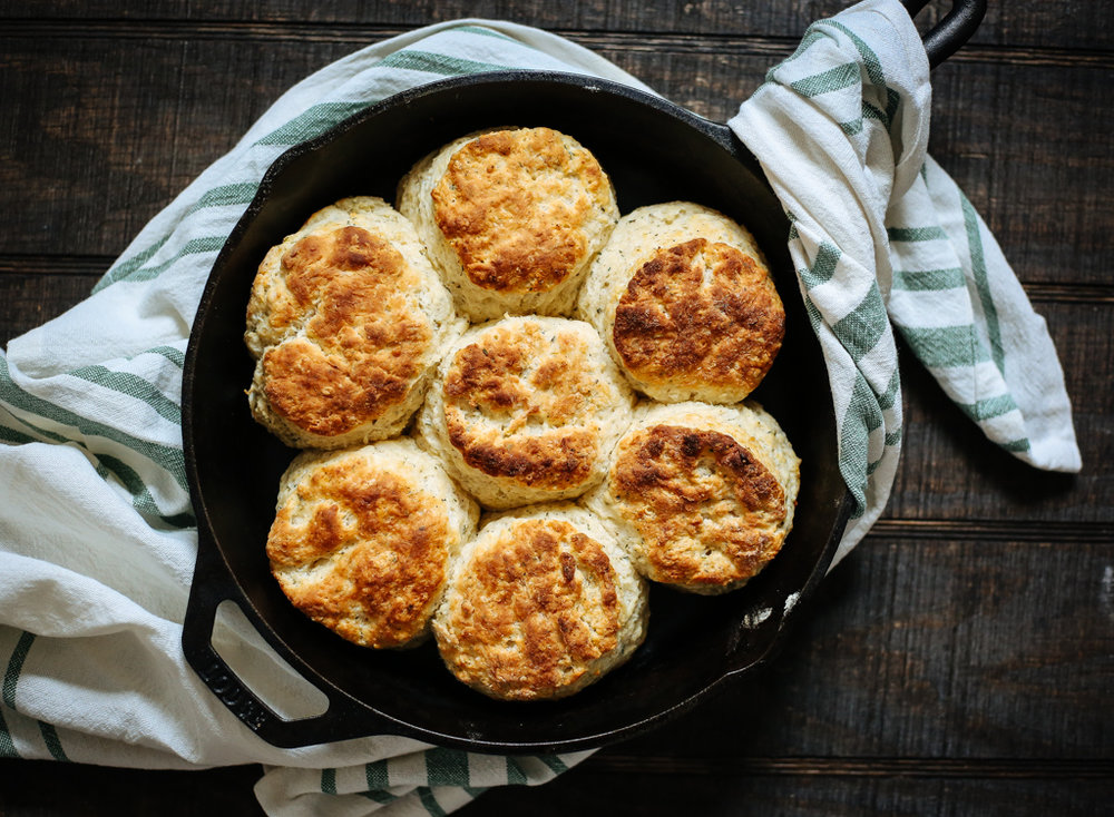 Parmesan and Herb Biscuits