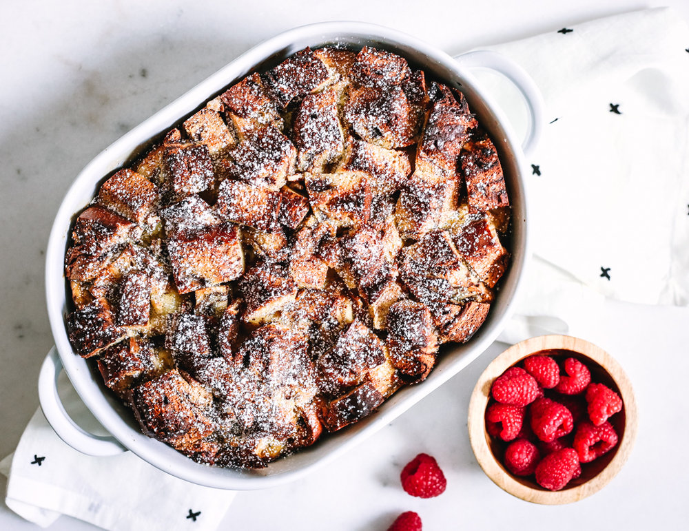 Cinnamon Challah French Toast Casserole