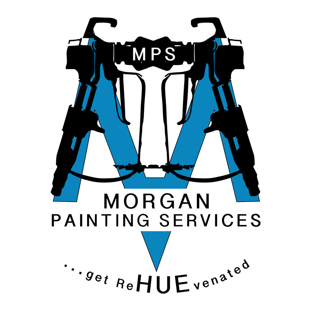 Morgan Painting Services Logo Design