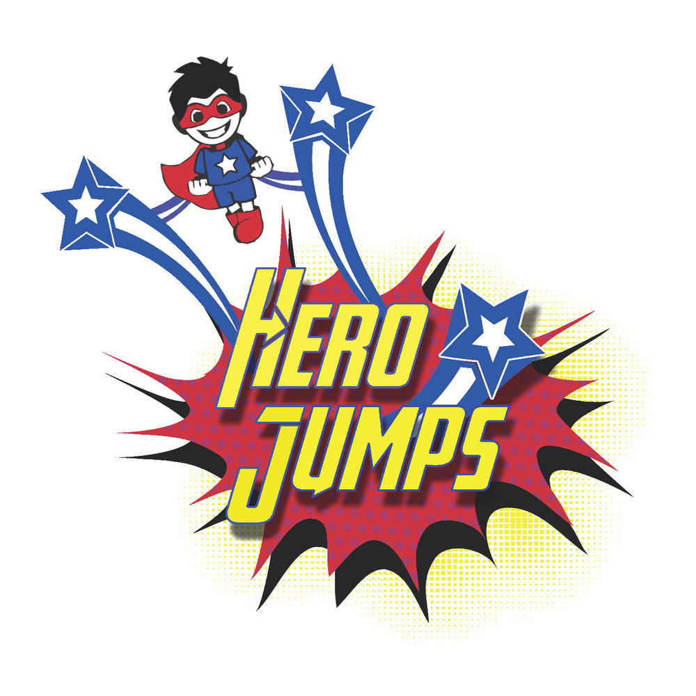 Hero Jumps Logo Design