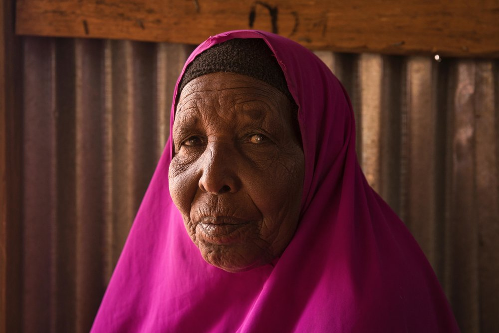 Former livestock herder, Halima Boute, 60, moved to Hadado Town in Northern Kenya after most of her goats and sheep died in an earlier drought. Still, she said the current situation is even more difficult than anything before.