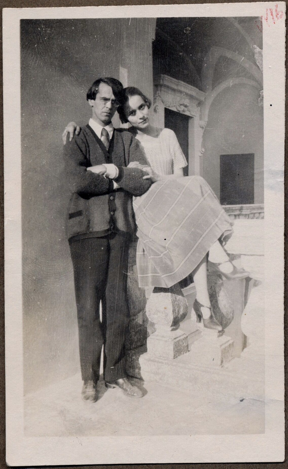 Khodasevich and Nina.jpg