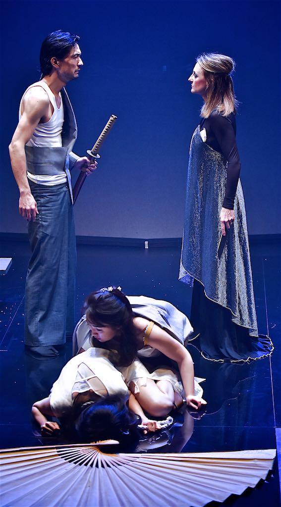 Noriaki Okubo,  Caroline Dunphy,  Masako Mizusawa and Kimie Tsukakoshi. Photo by Barbara Lowing.  HANAKO - Brisbane Festival 2016 .