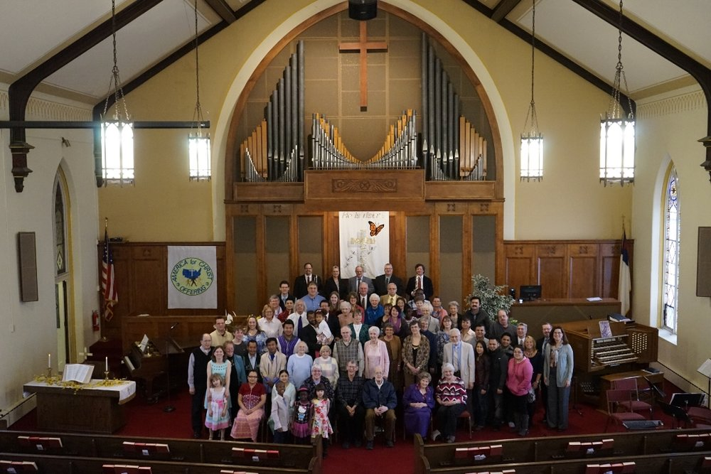 A Congregation with a 175-year legacy of serving the Lord!    Join us for services!
