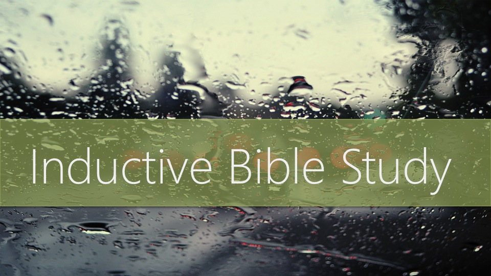 """Join us Wednesday's @6PM in September, in the Weiss Fellowship Center for Fellowship, a Time of Worship and a 4-week Series:  """"  The Tools of Inductive Bible Study""""with Peggy Mc Aulay and Chester Britt."""