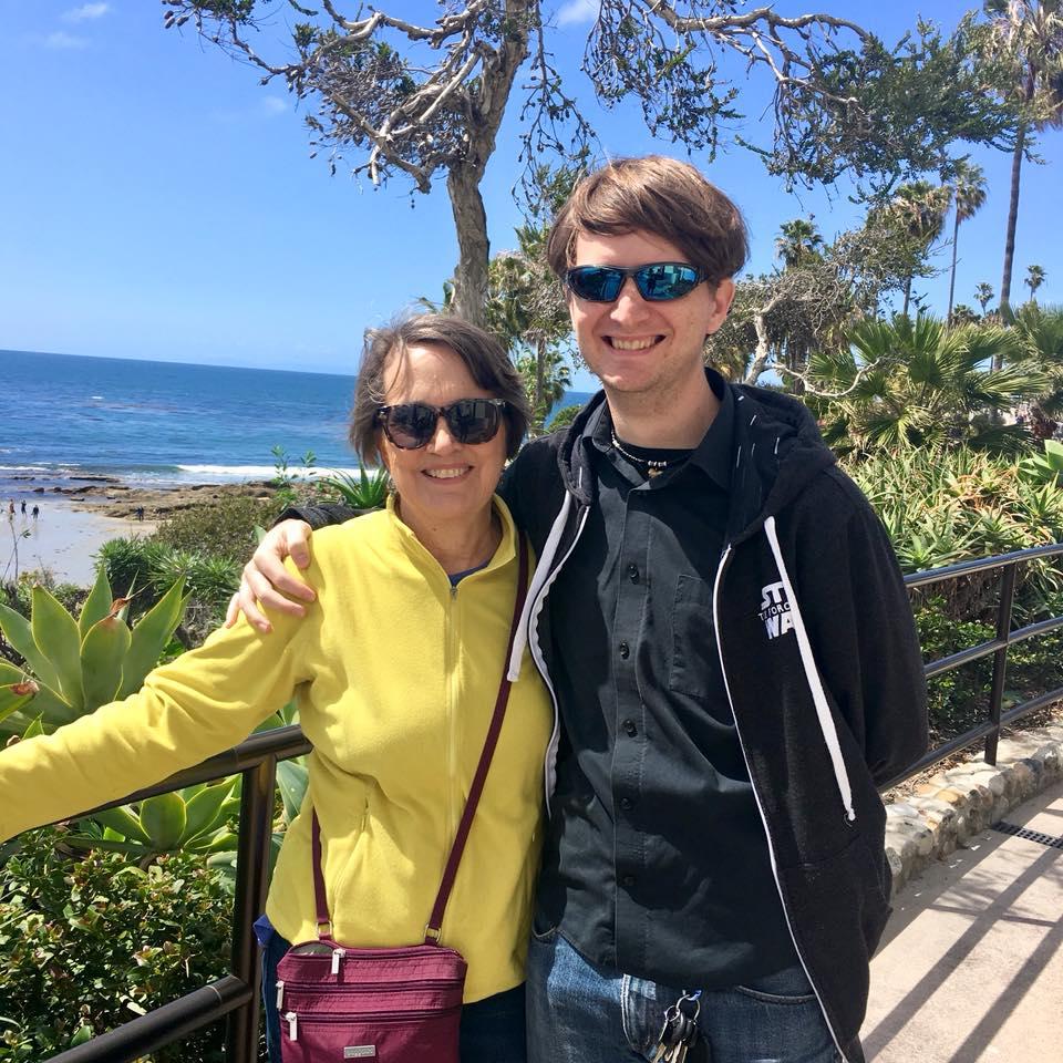 Group Leader Sarah Jackson with her son Glenn